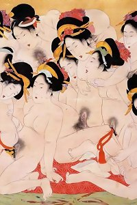Japanese Drawings Shunga Art 5